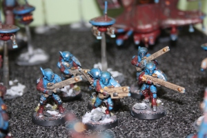 Fire Warriors and Drone